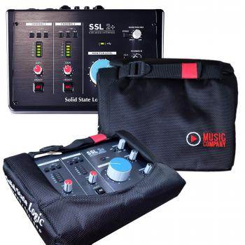 SSL 2+ com Case-Bag Oficial Exclusivo